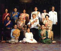 Thai royal family in Thai kingdom